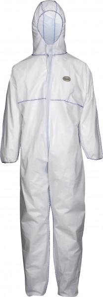 CoverBase ® -Premium 10x Chemieschutzoverall SMS-1, Größe 3 XL - 1