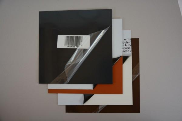 Alu Zuschnitt, Größe: 400 x 750 x 0,8 mm, verschiedene Farben - 1