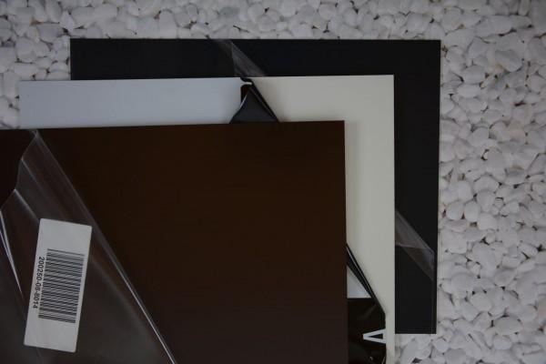 Alu Zuschnitt, Größe: 200 x 250 x 0.8 mm, verschiedene Farben - 1